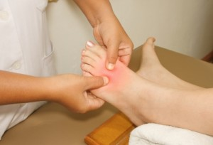 The Painful Or Injury Foot